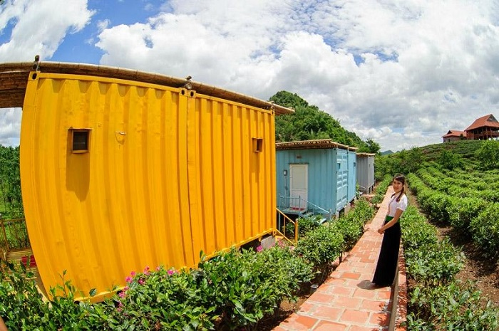 moc chau arena homestay container 2