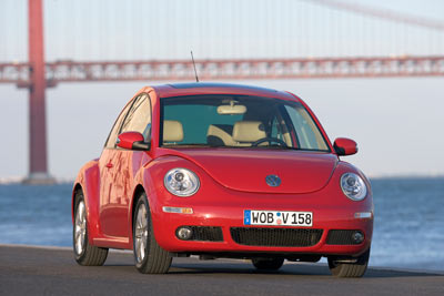 New Beetle m?t trong nh?ng m?u World Auto gi?i thi?u t?i VN.